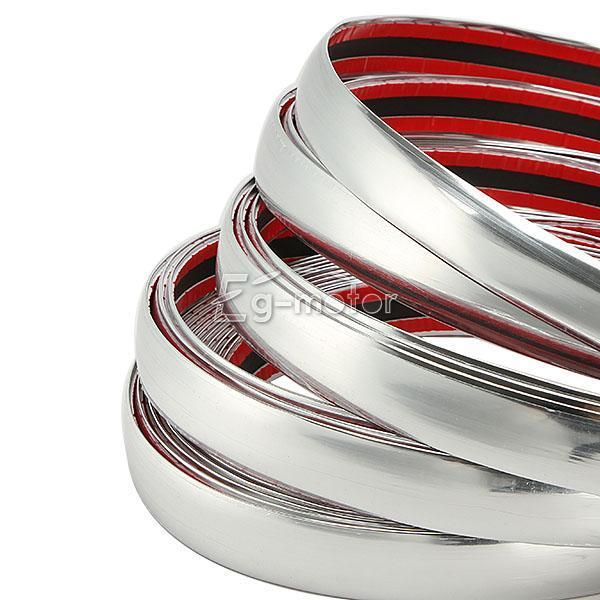 Car Styling Strip Chrome 25mm x 15m Car Styling Auto Trim Universal for Mazda CX5 Nissan X Trail T32 tiguan 2018 Dacia Duster in Chromium Styling from Automobiles Motorcycles