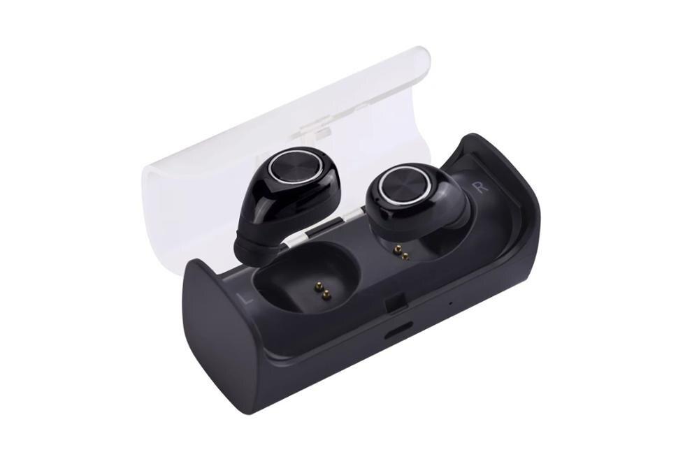 Gratuit de livrare Mini Twins Real Bluetooth fără fir căști - Audio și video portabile