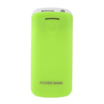 Creative Design 5600mAh USB Charging Portable External Backup Battery Charger 2*18650 Battery Power Bank Case Power Bank