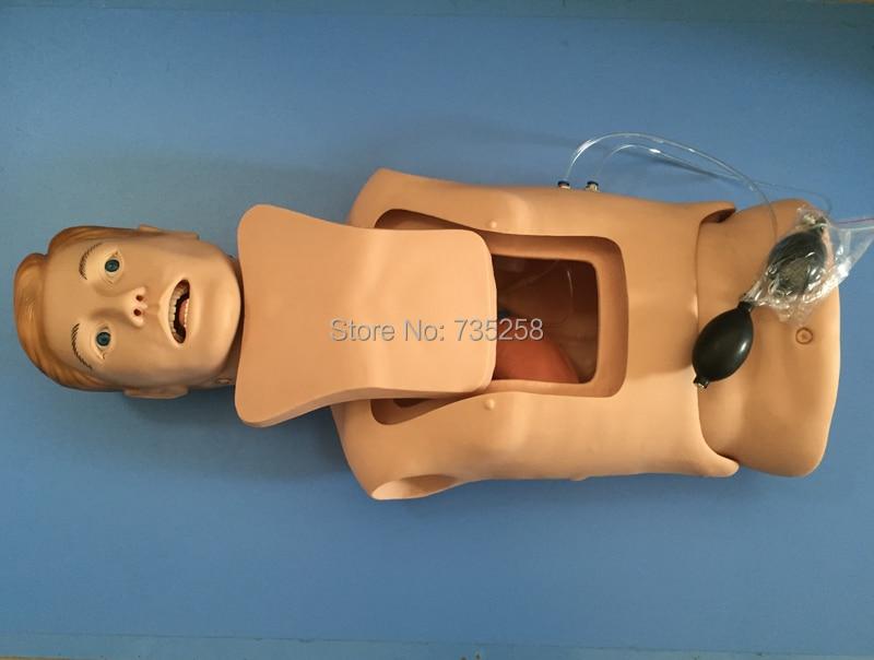 Senior Nasogastric Tube With the Trachea Nursing Model,Airway Nursing Practice Model,Nasogastric Tube Nursing Training Model senior full term fetus model superior baby care training model the model of newborn babies