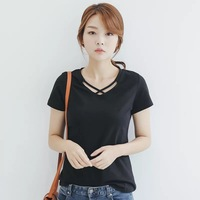 2019 fashion short sleeved casual ladies special T shirt K958