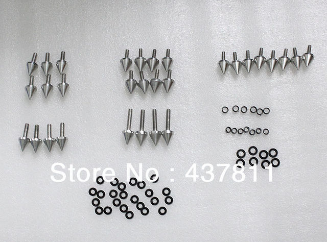 Spike Fairing Bolts Screws Washers Kit For Suzuki GSXR 600 2001 2002 2003