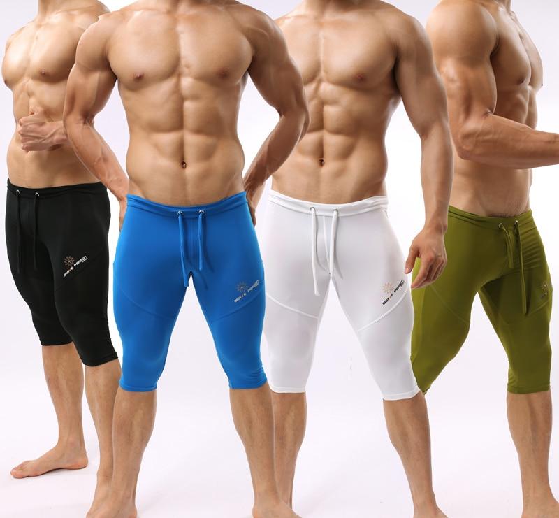 Braveperson Sexy Soft Trunk Man's Yoga Pants Fitness