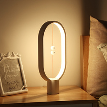 Lámpara de equilibrio Allocacoc Heng luz de noche LED con USB y decoración para el hogar, lámpara de mesa de oficina, lámpara de noche, novedosa Luz de regalo para niños