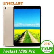 Новейший Teclast M89 Pro 7,9 дюймов 3 Гб ram 32 ГБ rom ips X27 Deca Core 2048 × 1536 type-C 2,4G + 5G двухдиапазонный WiFi металлический тонкий планшетный ПК
