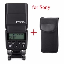 Godox TT350S Speedlite 2.4G HSS TTL GN36 Wireless Flash for Sony A7 A7R A7S A7 II A7S II A6300 A6000 Mirrorless DSLR Camera