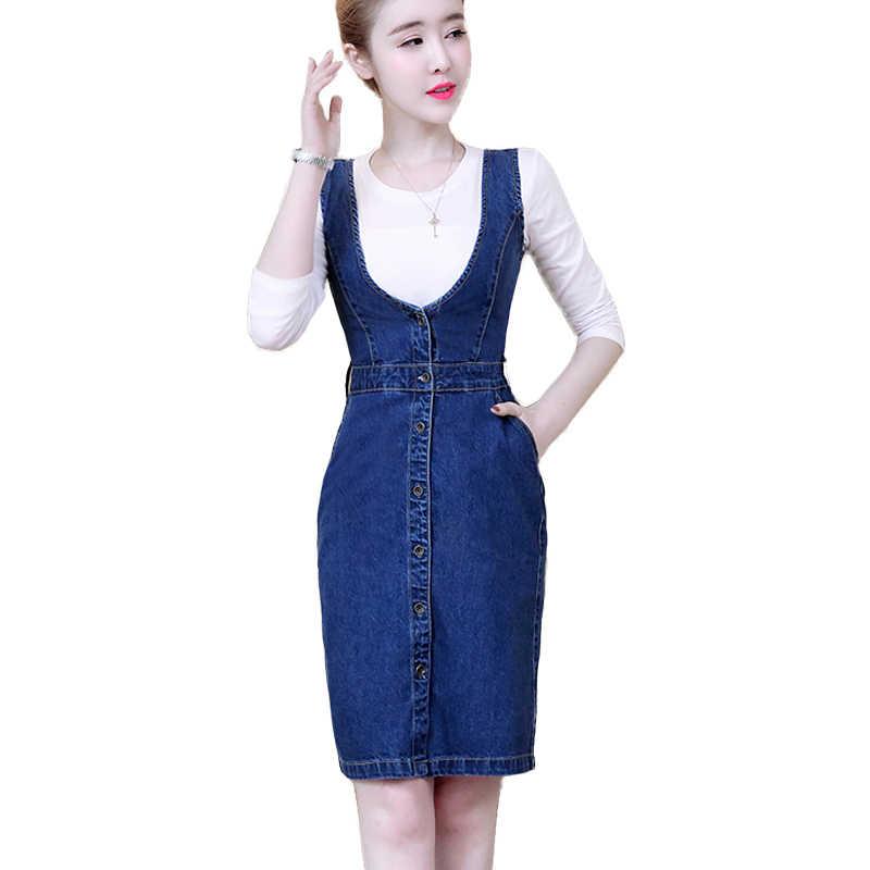 6da6fe98d4b4217 2018 летнее облегающее платье из джинсовой ткани для женщин в Корейском  стиле, облегающие сексуальные джинсовые