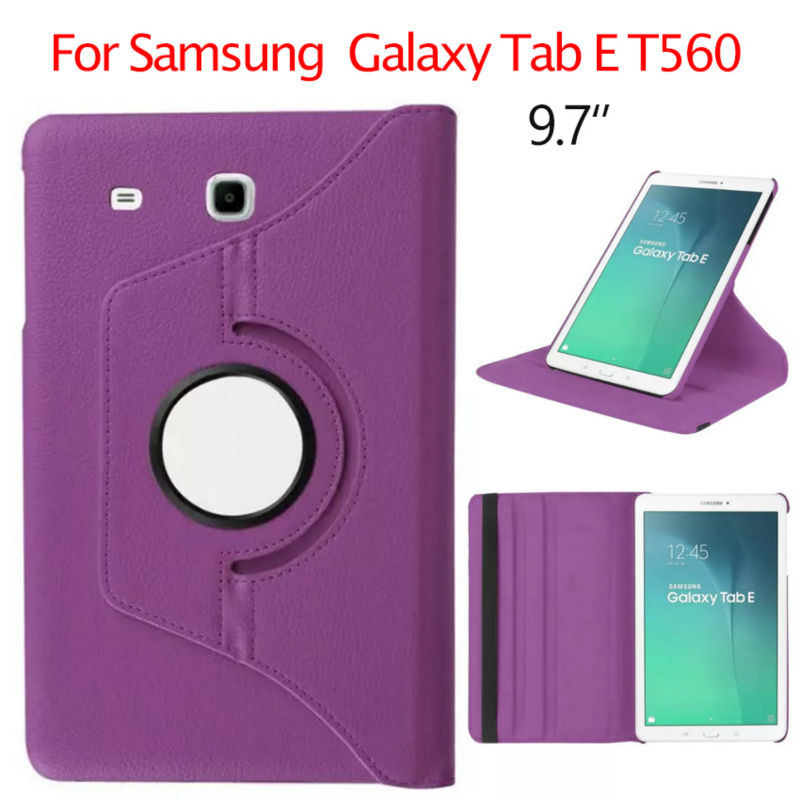 Tab E T560 Flip PU Leather Case Shockproof Stand 9 6 inch Tablet Cases Cover For