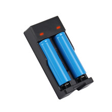 100 Stuks KingWei XXC-988 USB Multifunctionele Oplader voor 16340 14500 18350 18500 18650 3.7 V Li(China)
