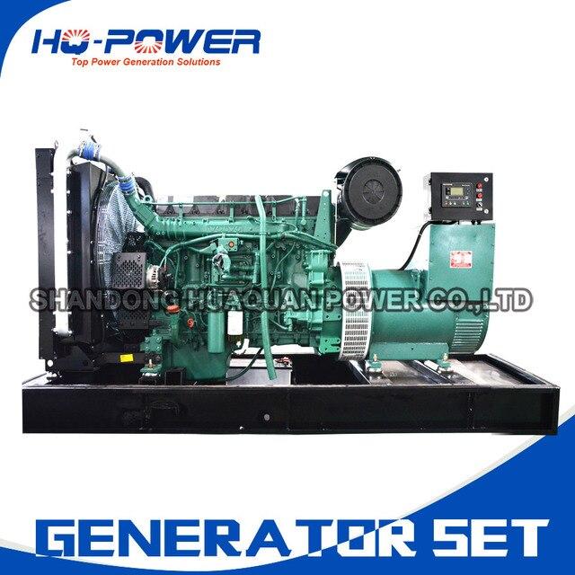 small portable diesel generator. Small Portable Diesel Generator 220kw Large Power Volvo Genset