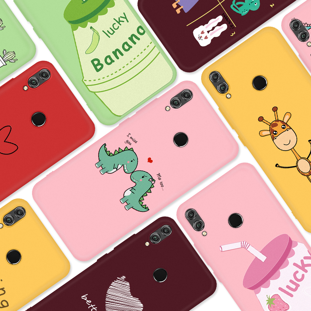 Soft <font><b>TPU</b></font> Pattern Phone Case For <font><b>Huawei</b></font> <font><b>Honor</b></font> 10i 20i <font><b>9</b></font> 10 20 <font><b>Lite</b></font> 8X Back Cover Phone Case For <font><b>Huawei</b></font> P30 P20 <font><b>Lite</b></font> P30 20 Pro image