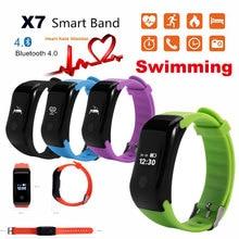 Водонепроницаемый smartwrist группа сердце-rate monitor Фитнес браслет Smart Band Bluetooth для IOS Android смартфон PK Mi band