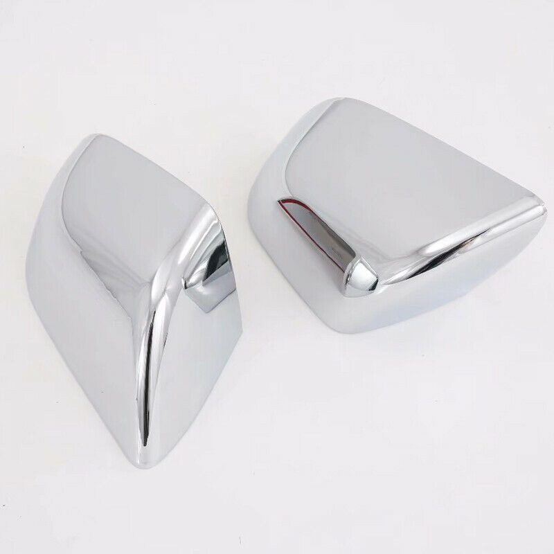 Pair ABS Chrome Car Rearview Side Mirror Cover Trim For Tesla Model 3 2018 2019