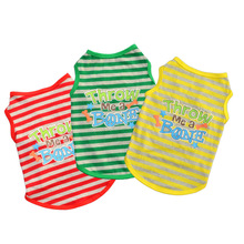 Shirts Small-Dog-Clothes Pet-Clothing Puppy-Vest Jersey-3 Summer for Cat
