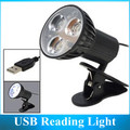 USB LED Reading Light / USB Lamp Lights USB Clip Table Lighting 5V 30PCS
