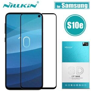 Image 1 - Nillkin Samsung S10 Artı S10e Cam Ekran Koruyucu 3D Tam Kapak Güvenlik Koruyucu Cam Samsung Galaxy S10 Temperli
