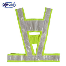 Brand New Outdoor Night Yellow Reflective Safety Vest Clothes Lime High Visibility Reflective clothes.