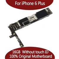 16GB For iPhone 6 Plus Mainboard 100% Original Unlocked for iphone6 Plus Motherboard without Touch ID Function good quality