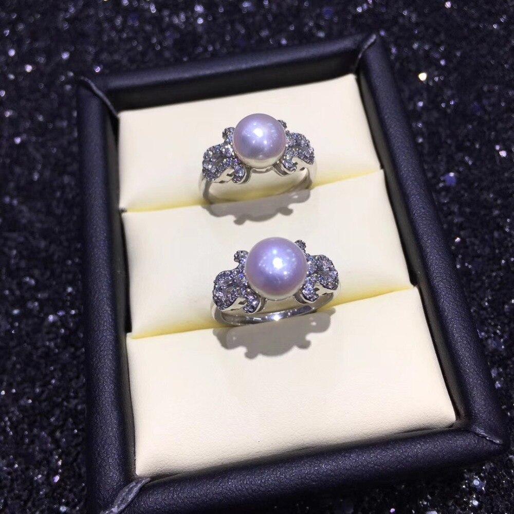 Montures d'anneau de perle chaude, trouvailles d'anneau, pièces réglables de réglage de bijoux d'anneau garnitures bijoux en argent de breloques-in Bijoux et composants from Bijoux et Accessoires    1