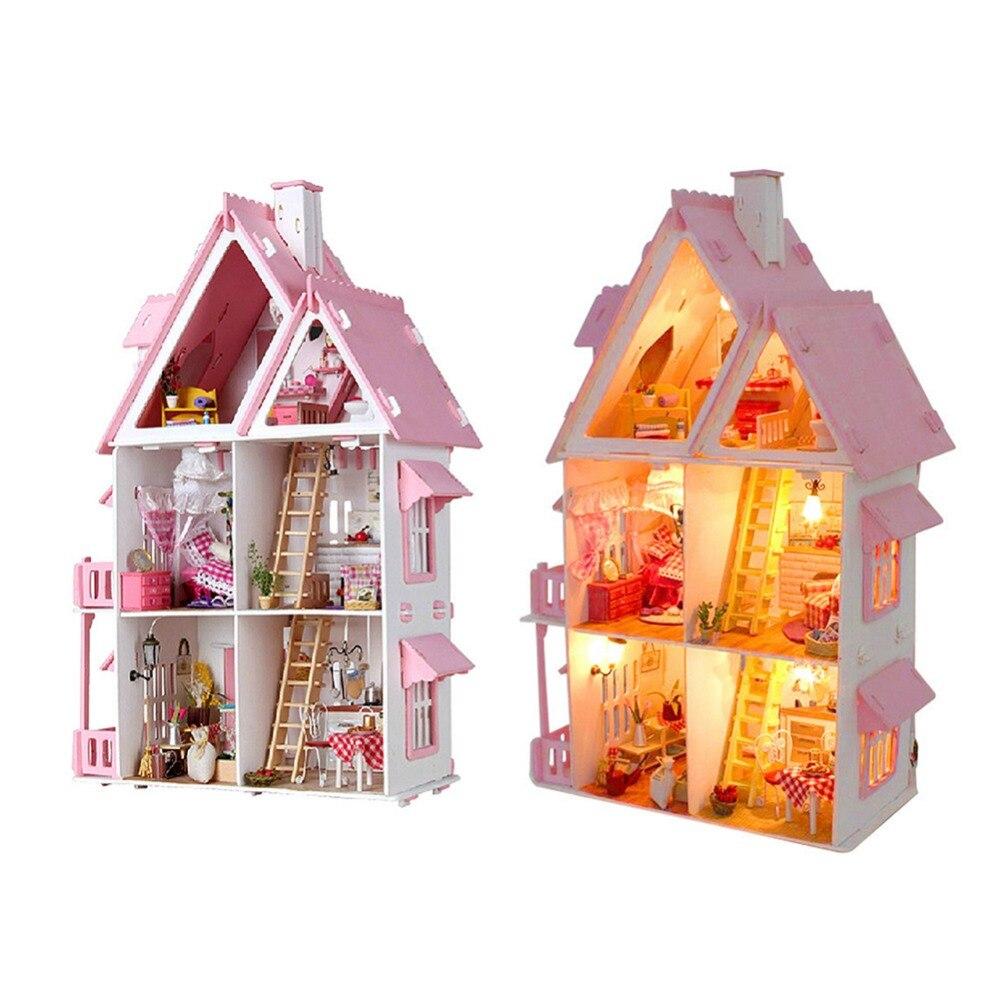 Bricolage maison de poupée cabane soleil Alice sans cache poussière
