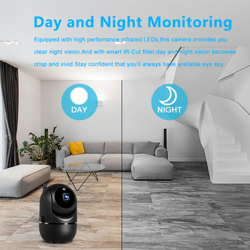 1080P Wireless Cloud Wifi Camera Smart Auto Tracking Home Security Surveillance 1