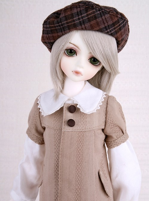 1/4 scale BJD lovely kid BJD/SD sweet cute boy LUTS Delf CHERRY figure doll DIY Model Toys.Not included Clothes,shoes,wig oueneifs bjd clothe sd doll 1 4 clothes girl boy baby long hooded jumpsuit hyoma chuzzl send socks luts volks iplehouse switch