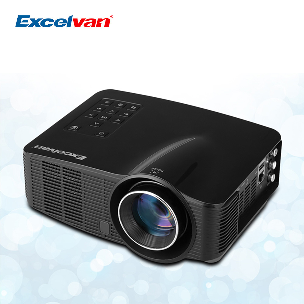 Hot excelvan led3018 portable led wifi android projector for Portable hdmi projector reviews