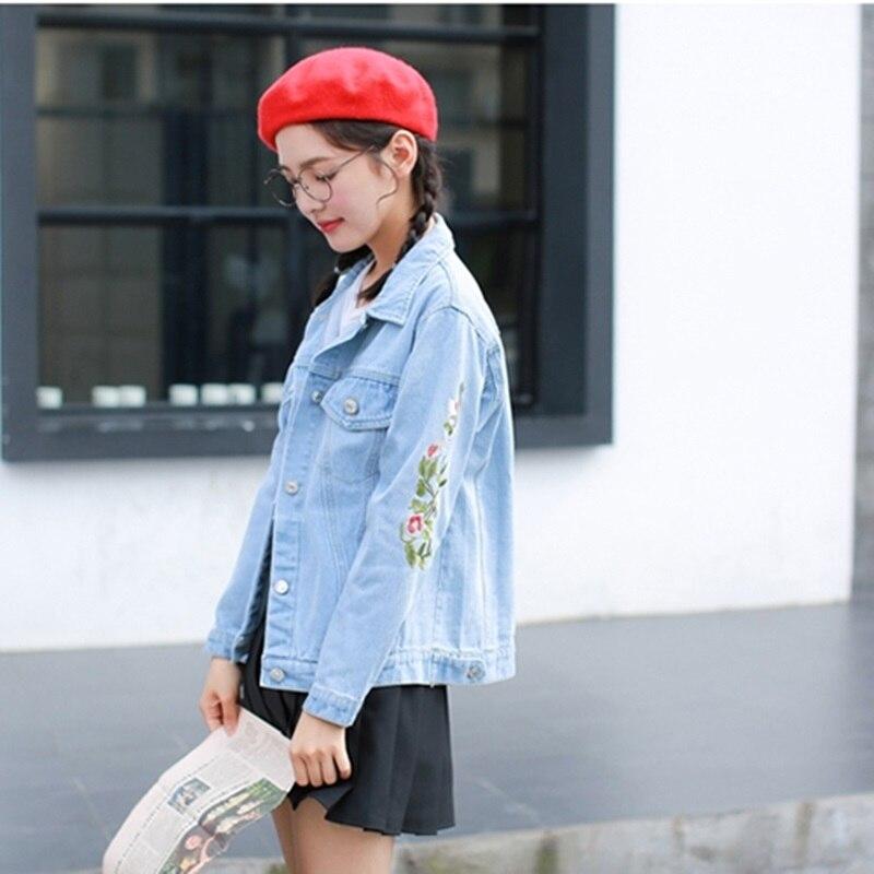 Automne Streetwear 2018 Jean Dames 1 Hiver Veste Femelle Dd1766 Denim Vestes Femmes Mode Survêtement Jeans 2 qUpzMVGS