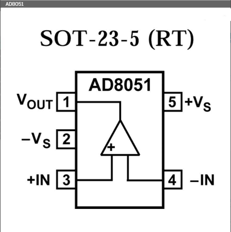 새로운 원본 AD8051 AD8051ARTZ AD8051ARTZ-REEL7 - 게임 및 액세서리