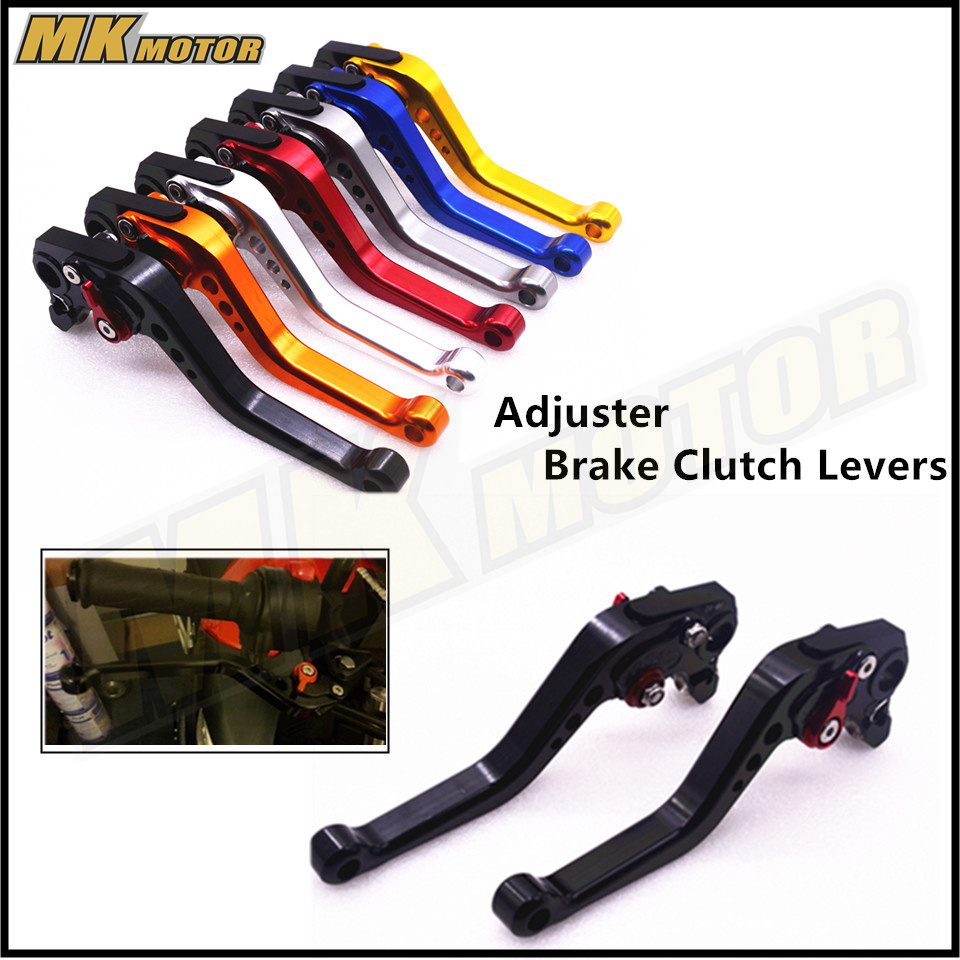 MT07 MT09 2017 CNC Short Brake Clutch Levers For Yamaha FZ1 FAZER FZ6R FZ8 XJ6 FZ6 MT-07 09 FZ-09 XSR700 XSR900 cnc billet adjustable long folding brake clutch levers for yamaha fz6 fazer 04 10 fz8 2011 14 2012 2013 mt 07 mt 09 sr fz9 2014