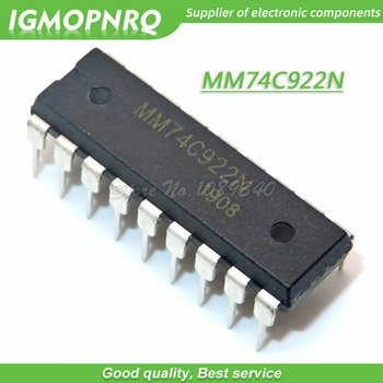5PCS MM74C922N MM74C922 74C922N 74C922 DIP made in  New Original Free Shipping - discount item  32% OFF Active Components