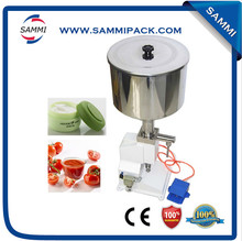 small semi automatic Cream Lotion Tube Filling Machine