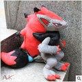 Personaje de la Película Juguetes de Peluche 32 cm Pokemon Zoroark Pokemon de Peluche de Juguete Muñeca de la Felpa Regalos Para Los Niños Envío Gratis