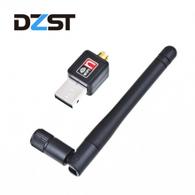 DZLST Mini Wifi Adapter 150Mbps USB Wi-fi Receiver 2dB Antenna PC Wireless 802.11b/n/g for laptop Computer