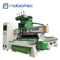 Three spindle ATC wood machine cabinet furniture woodworking cnc router 1325 1530