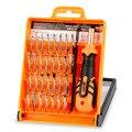 Jakemy jm-8100 32 en 1 kit de herramientas de reparación del teléfono móvil multiusos precisión destornillador herramientas de mano de hardware set para iphone pc