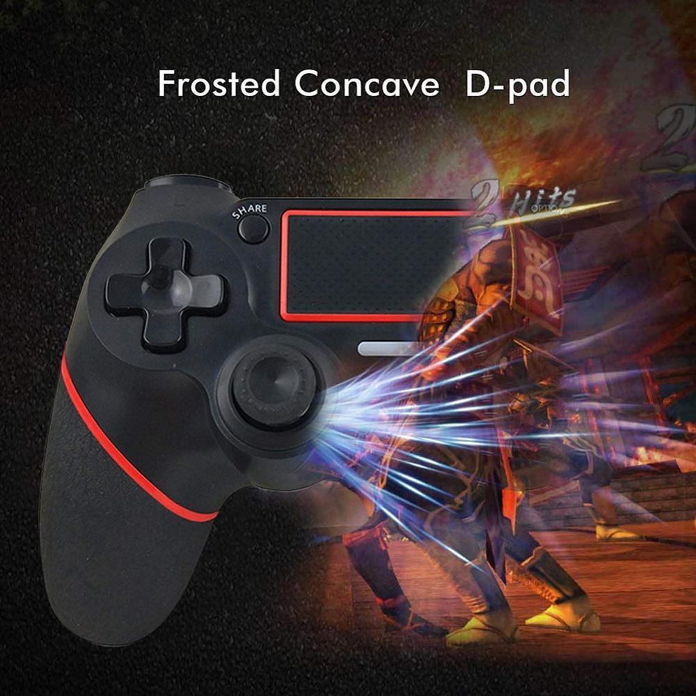 Lack Wireless Bluetooth Game Controller Touch Screen Gamepads Console Pad Wireless Gamepad Controller For Playstation 4
