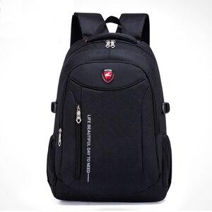Image 5 - Sac à dos multifonctionnel pour hommes, sac à dos en Nylon dans une variété de couleurs, grande capacité, ordinateur, voyage et loisirs