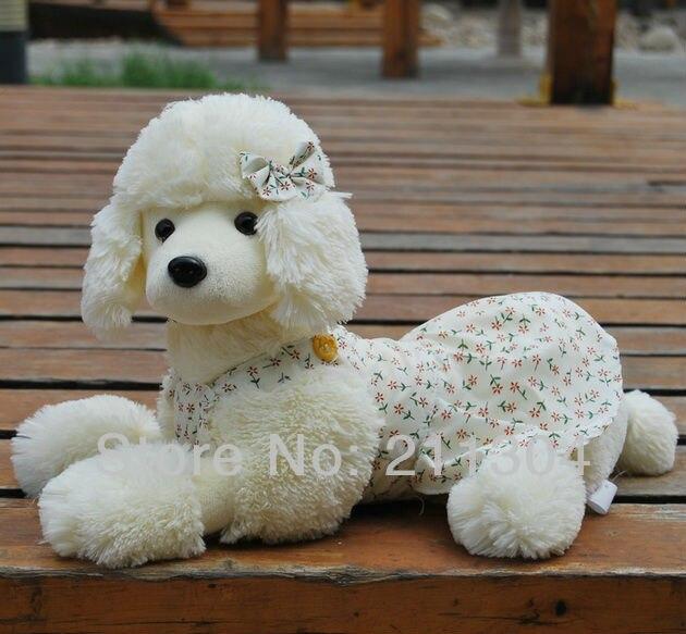 Freeshipping 1pc mazumtirdzniecības 30cm plīša pūdelis suns pildīti dzīvnieki cute mājdzīvnieki draugi bērniem Ziemassvētku dāvanas Mazs izmērs