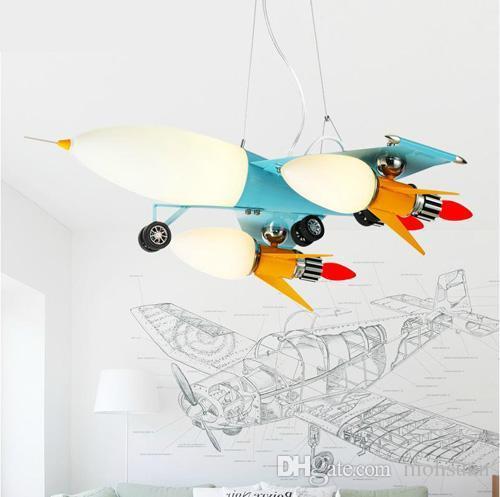 aliexpress  buy dbyx boy child airplane chandelier lamp, Lighting ideas