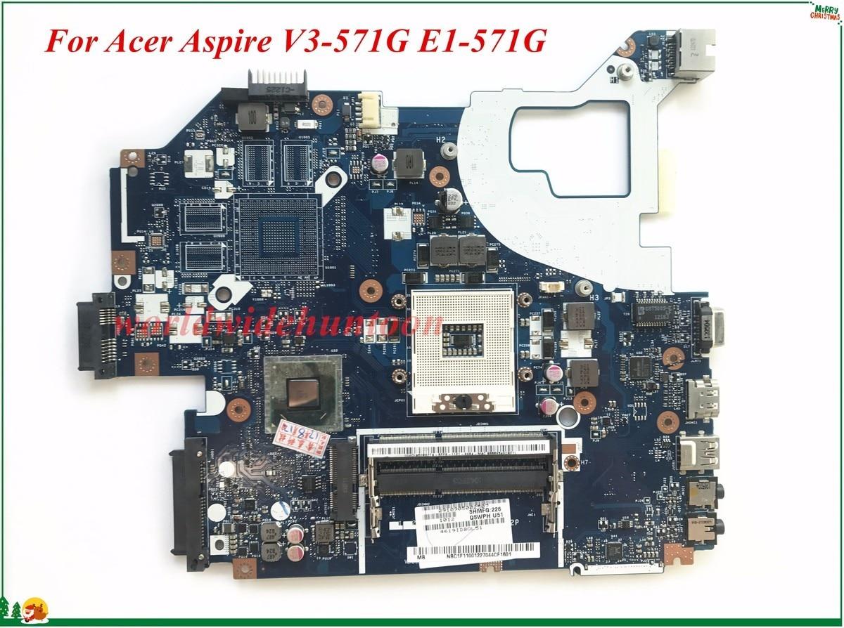 Оптовая продажа и высокое качество nbc1f11001 для Acer Aspire v3-571g E1-571G Материнская плата ноутбука q5wvh LA-7912P sjtnv HM70 100% тестирование