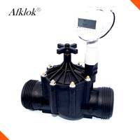 Garden Water Irrigation 3inch Solenoid Valve Water 12v With Control Timer
