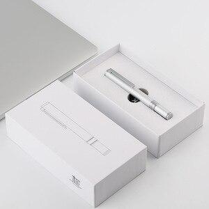 Image 4 - Ручка перьевая Moonman N1 из алюминиевого сплава, короткая, 0,38/0,5 мм
