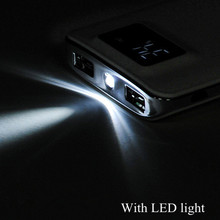 2017 Hot 20000mah Power Bank External Battery quick charge Dual USB LCD Powerbank Portable Mobile phone Charger for Cellphone