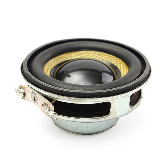 LEORY 1.5 inch 40mm Audio Full Range Speaker Unit 4Ohm 5W Audio Speaker Loudspeaker Horn DIY Home Theater