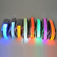 Free Shipping Lead Light In Dark Safety Flashing Dog Harness 7 Colors LED Leash For Dogs