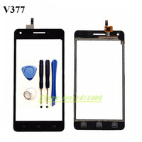 5 0 Inch Touch Panel Sensor For PHILIPS V377 377 Touch Screen Digitizer Front Glass Lens