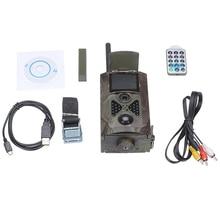 Protable HC500M HD 12MP Cámara del Rastro de la Fauna Scouting Infrarrojos de Control de SMS GSM GPRS MMS Cámara de La Caza
