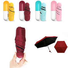JPZYLFKZL 6K New Creative Small Paraguas Anti-uv Car Mini Umbrella Mens Windproof Folding Umbrellas Women Rain