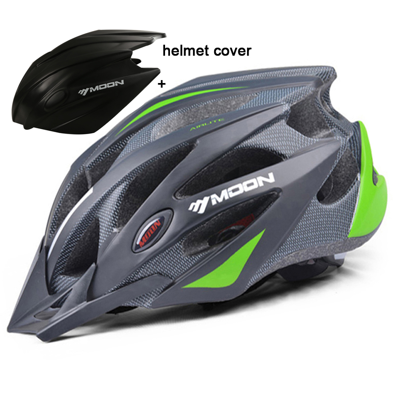 MOON Professional Cycling Helmet Cover Ultralight Waterproof and Windproof Bike Bicycle Helmet With a Rain Cover